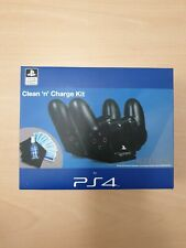 PS4 Clean 'N' Charge Kit 4gamers