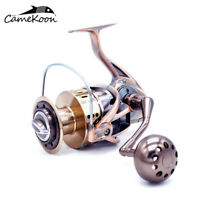 CAMEKOON All Metal Spinning Fishing Reel Powerful Carbon Fiber Drag Fishing Reel