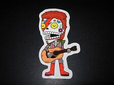 DAVID BOWIE Ziggy Stardust MUERTO Art Sticker Print DIA DE LOS JOSE PULIDO