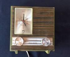 Atlantic Vingage Solid State AM Radio Clock Alarm Retro