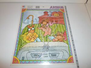 Complete! Arthur 25 Piece Frame Tray Puzzle DW Pal Dog PBS Sleepover TV Playtime