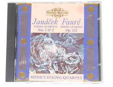 Medici String Quartet - CD - JANACEK - FAURE - Nimbus Records NI 5379