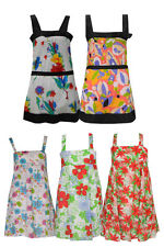 Unbranded Cotton Floral Sleeveless Dresses for Women