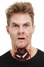 Zombie Exposed Throat Wound Scar Prosthetic Make Up Horror Fancy Dress Special F