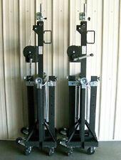 NEW! Pair Global Truss ST 157 Medium Duty Crank Stands!