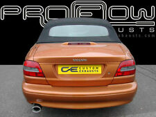 VOLVO C70 STAINLESS STEEL CUSTOM BUILT BESPOKE EXHAUST BACK BOX SINGLE TAIL PIPE