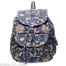 Topshop Backpack Rucksack Blue Navy Bag New with tags RRP 85