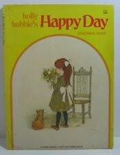 Vtg 1978 Holly Hobbie Coloring Book~ Rand McNally~ Happy Day~ American Greetings