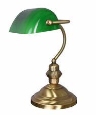Lampe de Banquier Vert Bureau Art Nouveau Bankierslampe Table