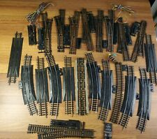 Huge  lot of 21 HO scale switches and rerailers Atlas, Yugoslavia Tyco & more
