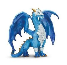 "Guardian Dragon Plastic Figure 5"" Tall #10129 Safari Ltd. Fantasy Blue NIB!!"