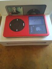 Apple iPod Classic Red Aluminum!- Thin Back (160gb) Refurbished! Very nice!