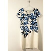 Talbots Floral Sheath Dress NWT Size 10 Workwear Special Occasion Dress