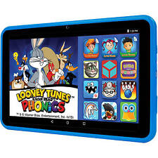 Kids Tablet Android Learning Tab Intel Quad Core Pre-Loaded iPad Blue For Kids
