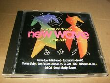 World of dance New Wave the 80's,CD,Used,1996,USA.