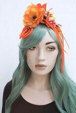Petit oiseau fleur orange fairy kei album Hippy dreads Bandeau Goth