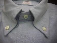 New! Brooks Brothers Blue Oxford BD Collar Shirt ~ NWT - Slim Fit ~ USA Medium