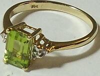 Peridot Damen Ring .333 Gold       #  A 30965