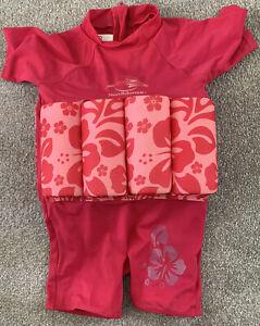 Konfidence Swim Suit Floatsuit age 12-24months Pink