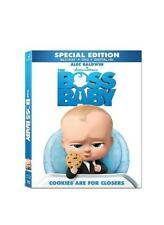 (3) The Boss Baby (Blu-ray/DVD, 2017, Includes Digital Copy) NEW