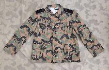 Feldjacke M45 Viertaschenrock Leibermuster Größe M
