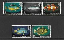 SOLOMON Islands the 5 Fish issues MINT NH
