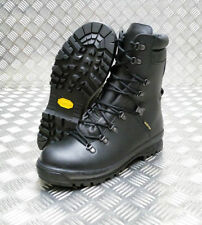 Combat Boots 100% Leather Shoes for Men