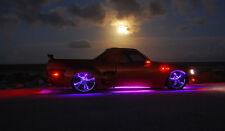 Tubo neon singolo viola da esterno auto macchina 12V 12 volt 100 cm