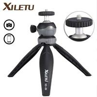 XILETU XS-20 Mini Desktop Phone Stand Tabletop Tripod for Digital Camera Phone