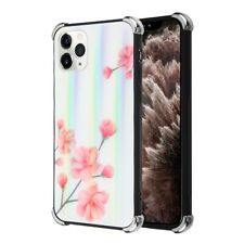 For iPhone 11 /Pro /Max Tempered Glass Back Panel Hybrid Bumper Frame Case Cover