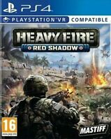 Heavy Fire: Red Shadow PS4 - New and Sealed - VR Playstation Game Gift Idea NEW