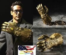 "1/6 The Infinity Glove Gauntlet Mighty key chain for 12"" figures hot toys ❶USA❶"