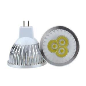 10 PCS MR16 9W Day White LED Spotlight Light Bulb Downlight Lamp