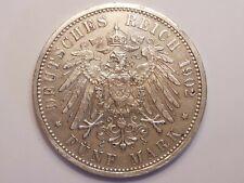 Deutsches Reich - 5 Mark 1902 G - Friedrich Großherzog v. Baden - Silber