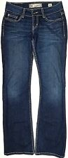 """* BKE Thick Stitch CULTURE Embellished BOOTCUT Stretch JEANS - SIZE 26 x 31.5 """""""
