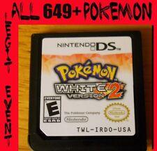 Pokemon White 2 Loaded With All 649 + 60 Legit Event Unlocked Poketransfer Bank
