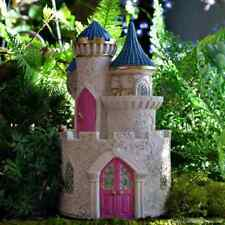 Pink Fairy Castle Fairy cottage Home Garden Craft Décor