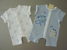 NEXT Set of 2 Romper Suits Size 3-6 Months NWT