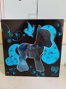 Hasbro MLP. My Little Pony G3. 2008 EXCLUSIVE BLACK & BLUE TATOO. Art Pony I.