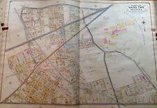 ORIG 1908 E. BELCHER HYDE MASPETH MELVINA P.S. 56 QUEENS NY PLAT ATLAS MAP
