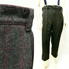 Vintage Woolrich Malone Gray Hunting Plaid Heavy Wool Pants Sz 38 style 1990