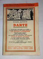 Dante: la sua vita, i suoi tempi, la sua opera..- Cesare Paperini - S.E.I., 1962