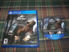 New listing Jurassic World Evolution Sony PlayStation 4 Ps4 Game w/ Case