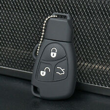 Silicone Key Fob Case Cover holder For Mercedes Benz B C E ML S CLK 270 CL