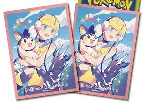 Elesa Pokemon Center Exclusive Anime Card Sleeves *NEW* 64ct