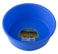 LITTLE GIANT P5BERRYBLUE Dura-Flex Plastic Utility Pan, 5-Quart, Berry Blue