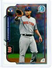 2015 Bowman Chrome EDUARDO RODRIGUEZ Boston Red Sox Rookie Card #196!!!
