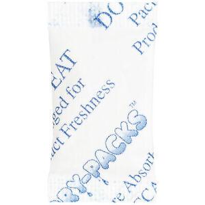 Silica Gel Packets Cotton Desiccant Dry Moisture Humidity Ammo Guns 1 Gram 100PK