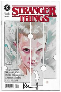 Stranger Things Six 1 Mack Variant Signed Keith Champagne Autographed Netflix