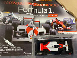 LE GRANDI FORMULA 1 scala 1:24  vol.1  Mclaren MP4/4 F1 Ayrton Senna 1988